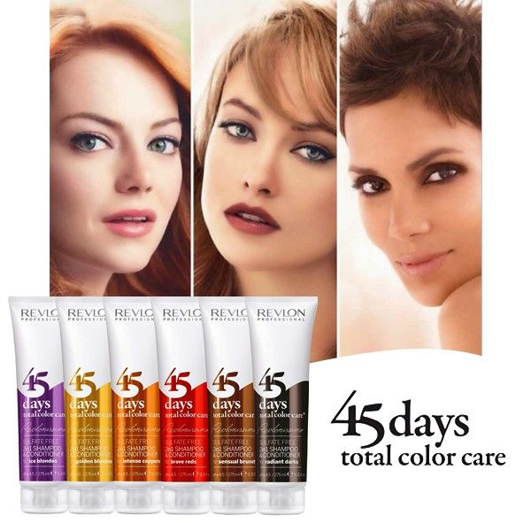 Revlon 45 Days Color Champu y Accondicionador 275ml