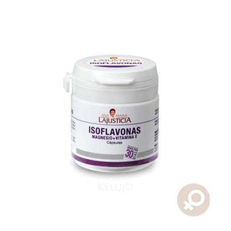 Isoflavonas con Magnesio + Vitamina E 30 cápsulas