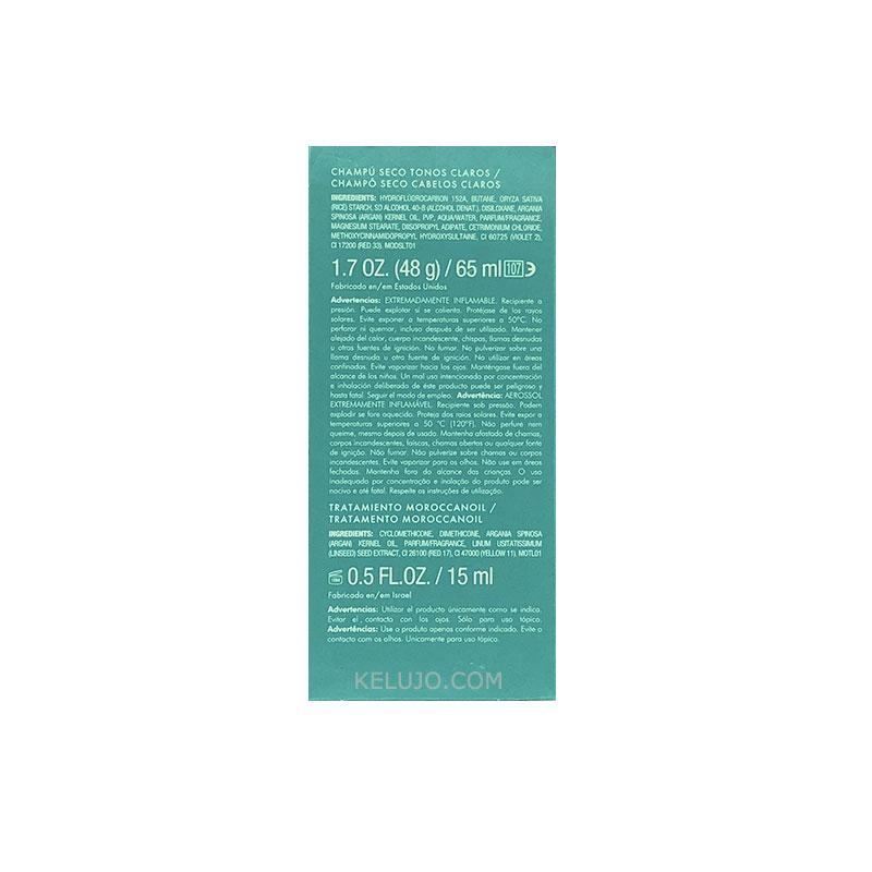 Champú seco tonos claros 65ml y regalo Trat. 15ml