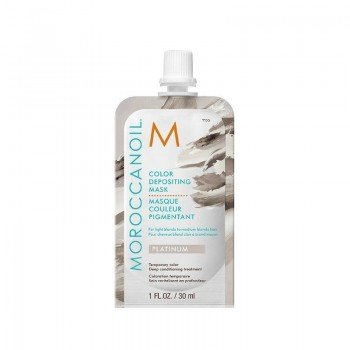 Mascarilla Con Color Moroccanoil Platino 30ml