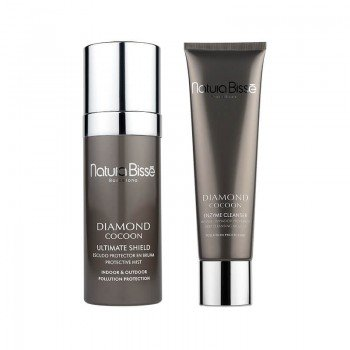 Pack Diamond Cocoon Enzyme Cleanser + Ultimate Shield
